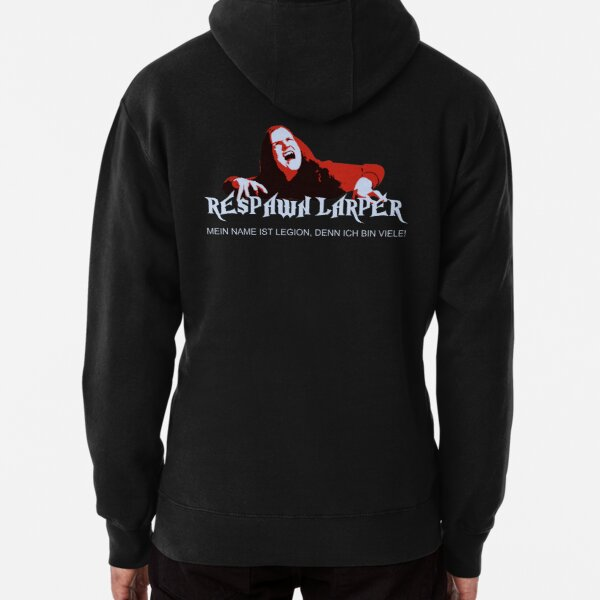 RespawnLARPer - My name is Legion Pullover Hoodie