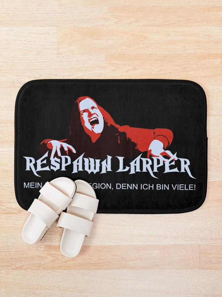 Alternate view of RespawnLARPer - My name is Legion Bath Mat