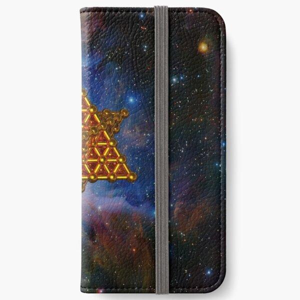 Merkaba Matrix iPhone Wallet