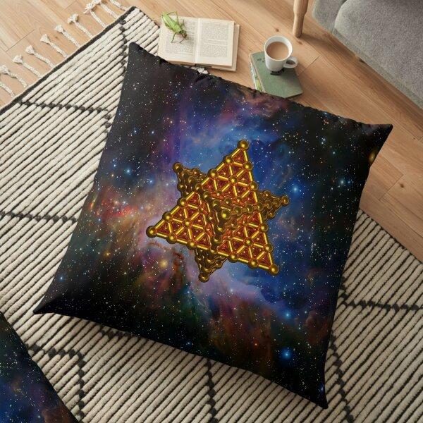 Merkaba Matrix Floor Pillow