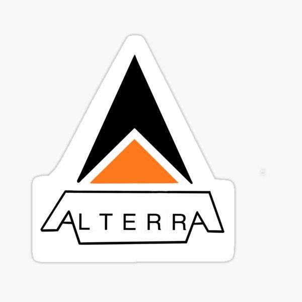 ALTERRA, Subnautica Alterra Corp. Logo Sticker