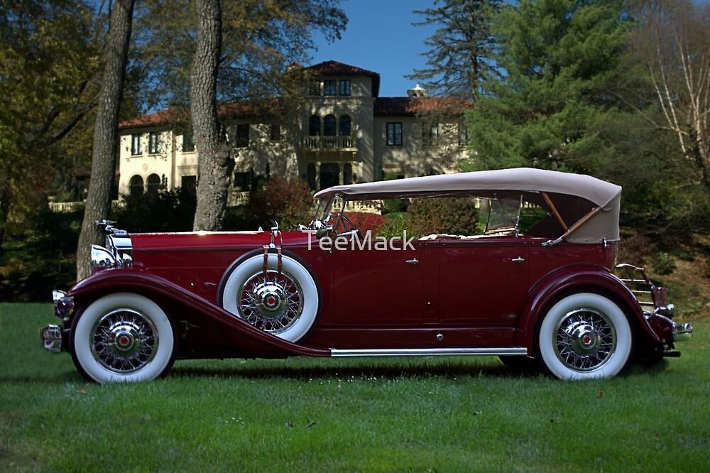 1932 Packard 903 Deluxe Eight Sport Phaeton by TeeMack