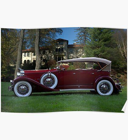 1932 Packard 903 Deluxe Eight Sport Phaeton Poster