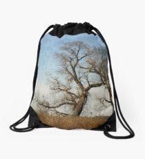 Winter Trees Drawstring Bag