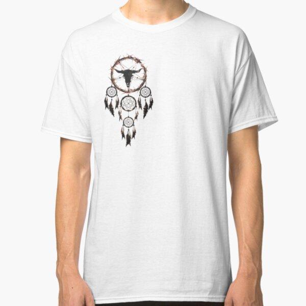 summoning circle pentagram - dream catcher Classic T-Shirt