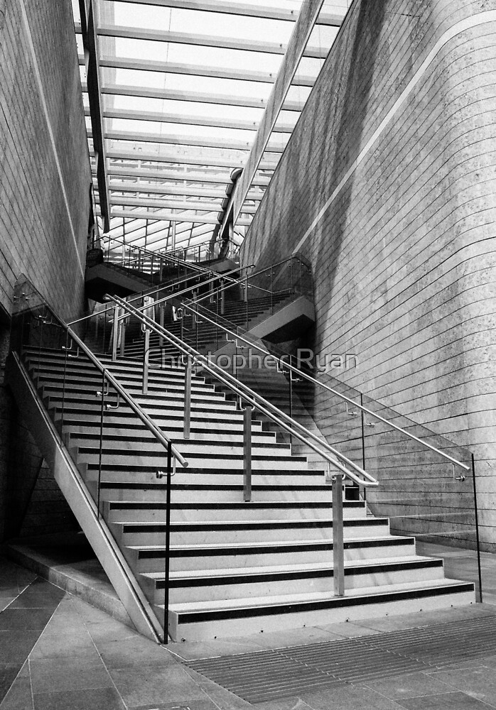 Liverpool Stairway I by Christopher Ryan