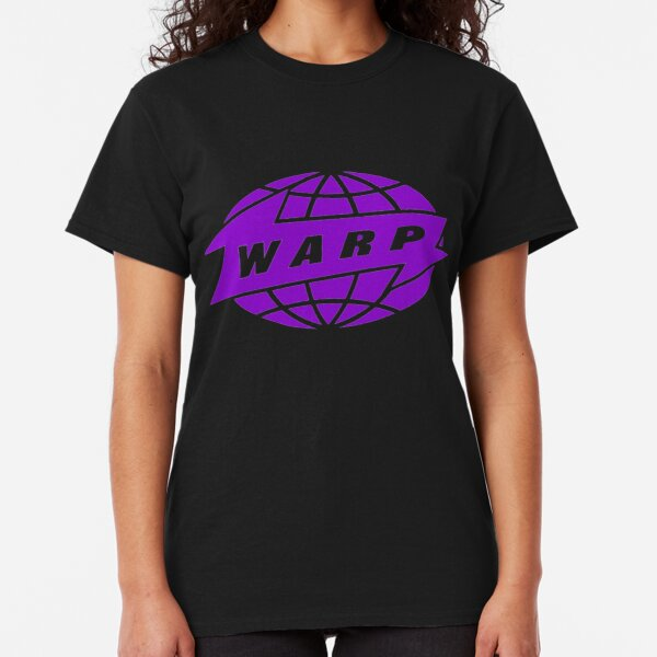 Warp Records logo design Classic T-Shirt