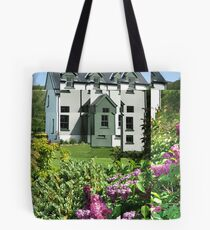 Buddleia outside Scottish House Tote Bag