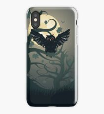 Owl in the Night Forest 2 iPhone Case