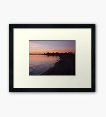 Sunset at Rockley Beach Framed Print