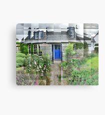 Oakwood Cottage Metal Print