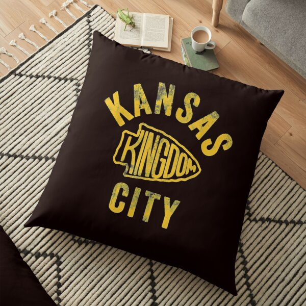 Kansas City Kingdom Football 2020 Kc Chiefs Red Arrowhead T shirt Floor Pillow