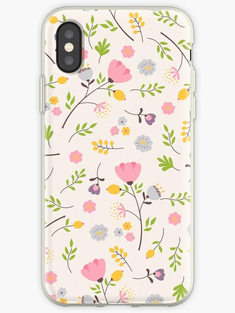 Tender flowers pattern by OkPen