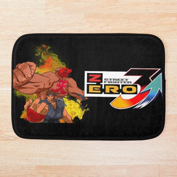 Street Fighter Ryu Akuma Evil Alpha Bath Mat