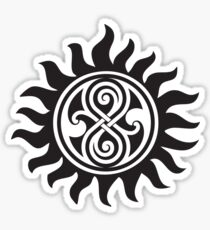 SUPERWHO SEAL OF RASSILON AND PROTECTION TATTOO Sticker