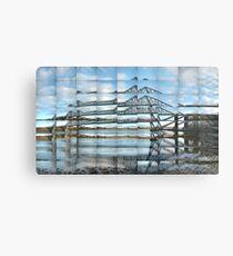 Connel Bridge Reflected Metal Print
