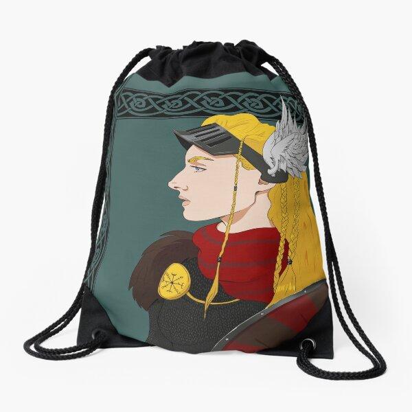 Valkyrie - Chooser of the Slain Drawstring Bag