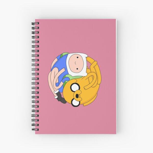 Jake and Finn Spiral Notebook