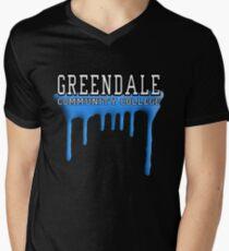 Community - Greendale Paintball Blue Men's V-Neck T-Shirt