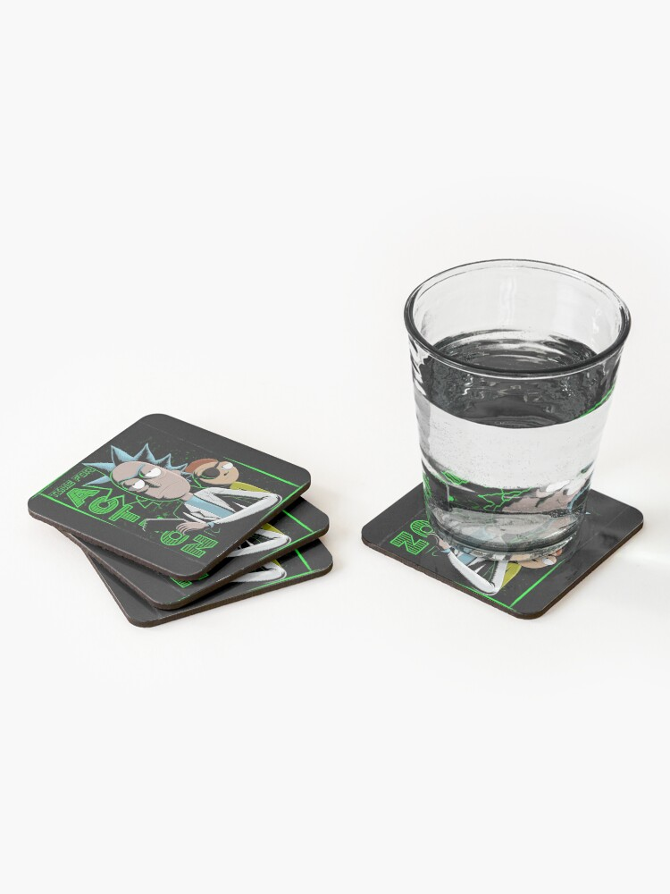 Alternate view of Time For Action Coasters (Set of 4)