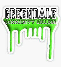 Community - Greendale Paintball Green Sticker
