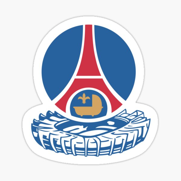 PSG - Logo 1980 Sticker