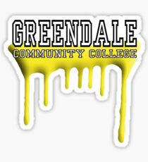 Community - Greendale Paintball Yellow Sticker
