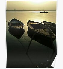 Boats of the Ganges Poster