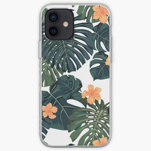 Tropical blossom iPhone Soft Case