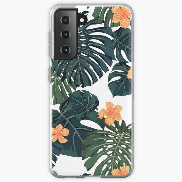 Tropical blossom Samsung Galaxy Soft Case