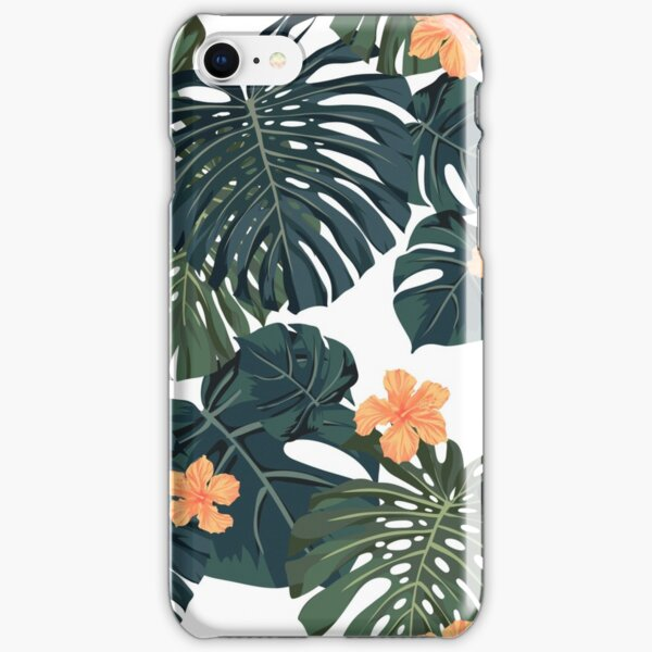 Tropical blossom iPhone Snap Case