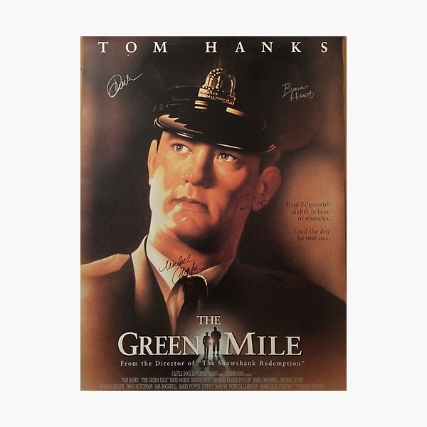 the green Mile Photographic Print