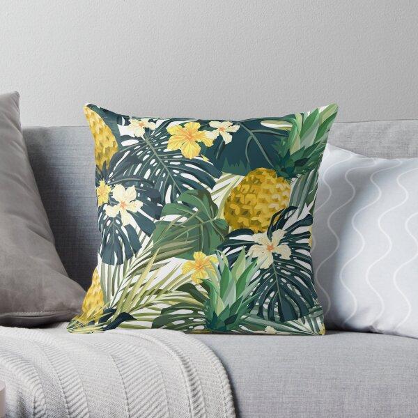 Light pineapple Throw Pillow