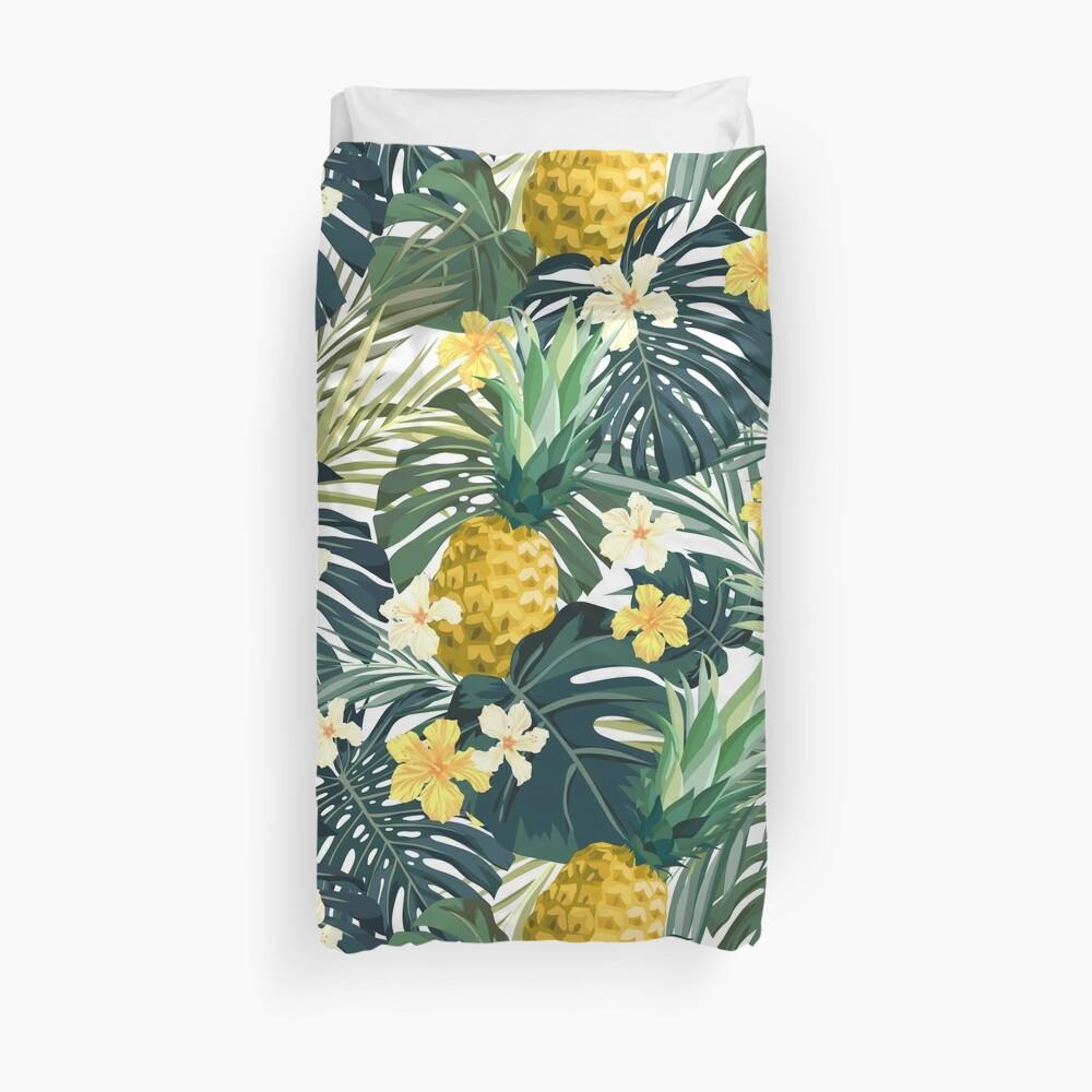 Light pineapple Duvet Cover