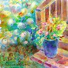 Blue Pot by Yevgenia Watts