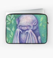 Dorky Pink Bat Laptop Sleeve