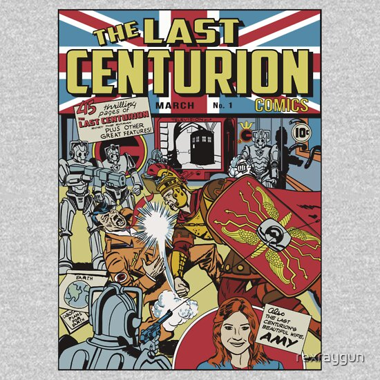 TShirtGifter presents: The Last Centurion Comics - Doctor Who