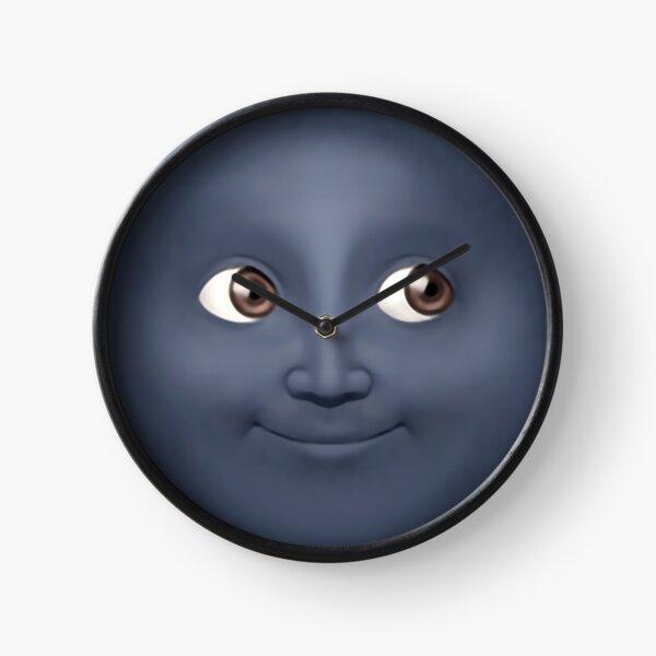 Moon Emoji Clock