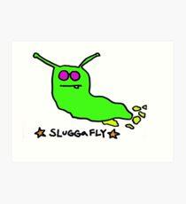 SluggaFly Art Print