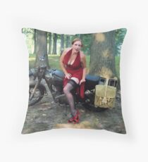 Matchless and Redhead Throw Pillow