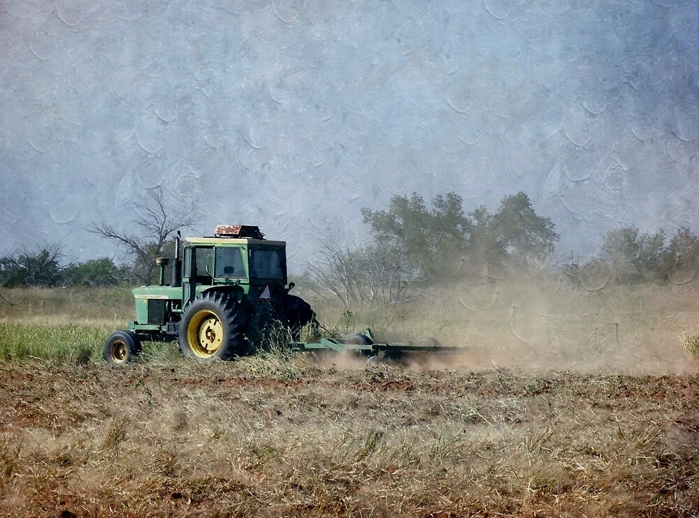 Working The Ground With John Deere by Annie Adkins