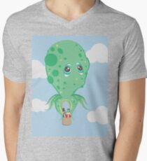 Today Sir, we travel by Octopus! Mens V-Neck T-Shirt