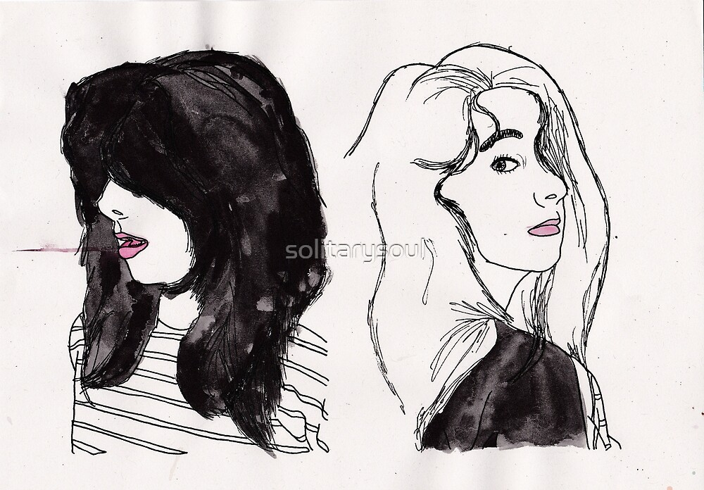 The Two Faces Of A Girl by solitarysoul