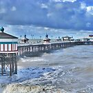 North Pier -Blackpool  by Lilian Marshall