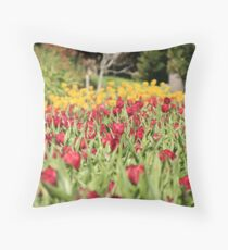 Araluen Tulips Throw Pillow