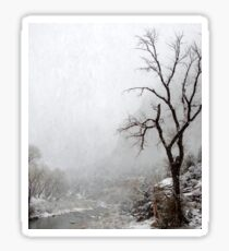Zion Snowstorm Sticker