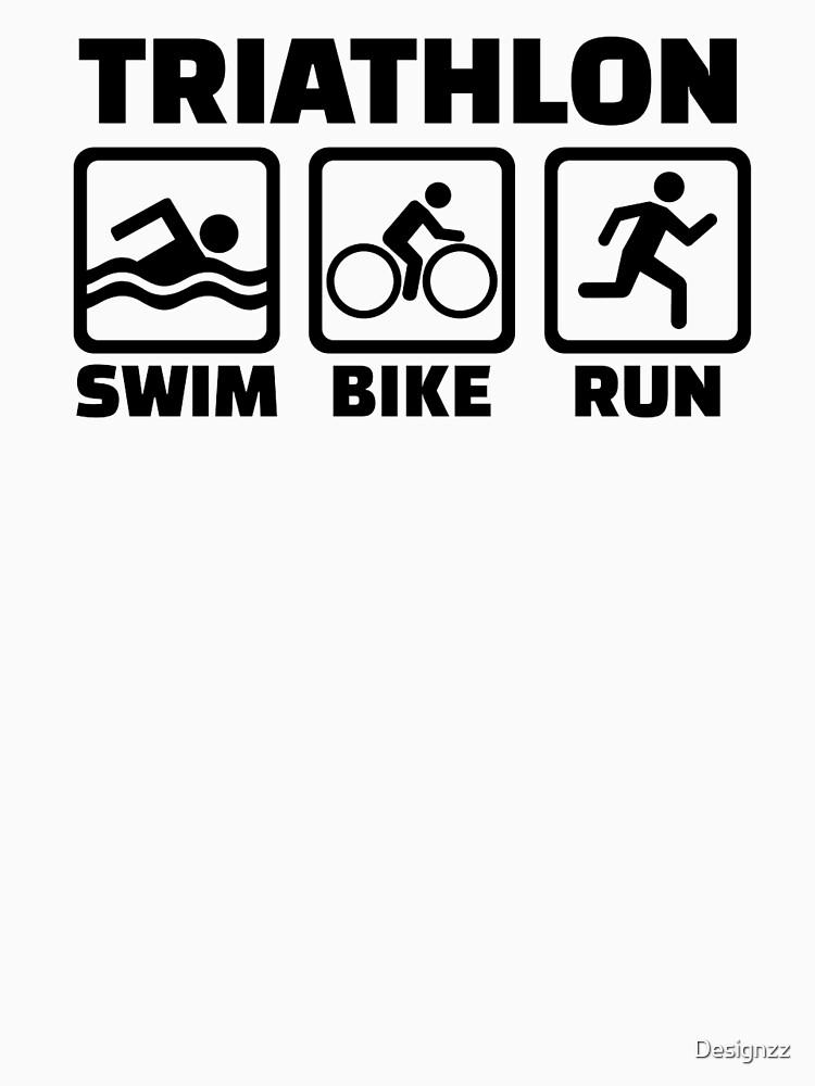 Triathlon by Designzz