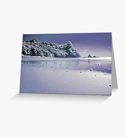 Te Karo infrared Greeting Card