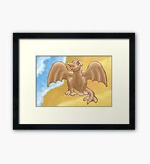 """Dumb Dragon""?! Framed Print"