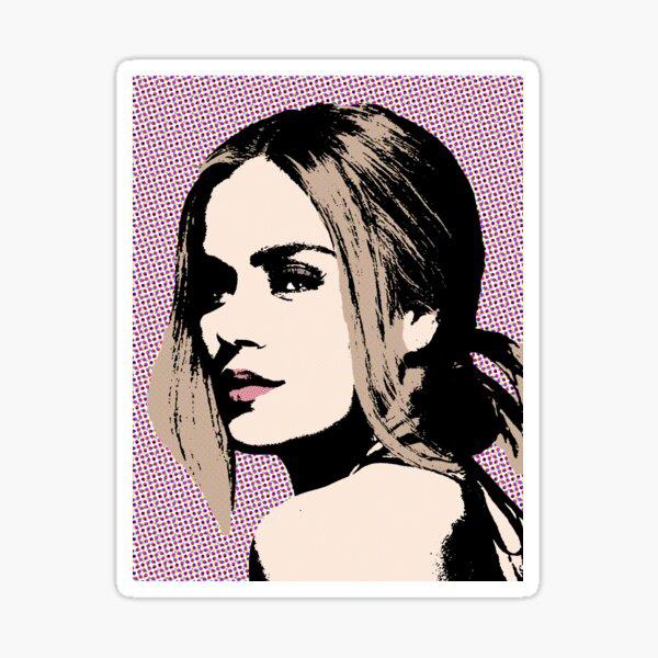 Karol G pop art Pegatina